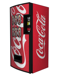coca cola vending machine charged my card more