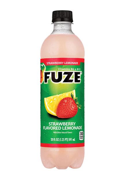 fuze strawberry iced tea nutrition