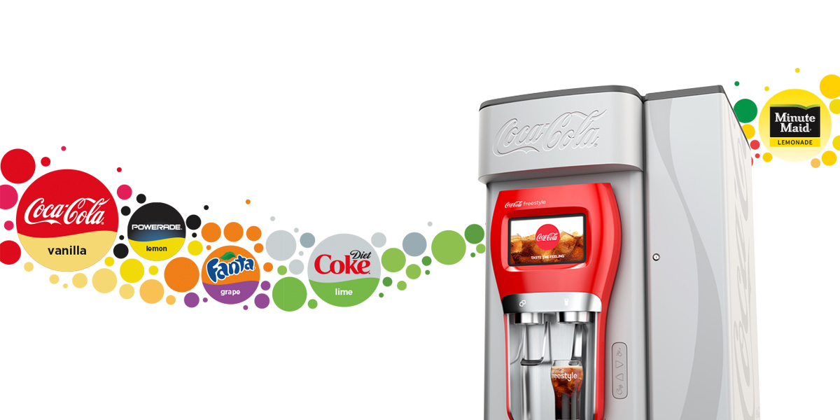 Operators can win with the Coca-Cola Freestyle 7000 countertop dispenser