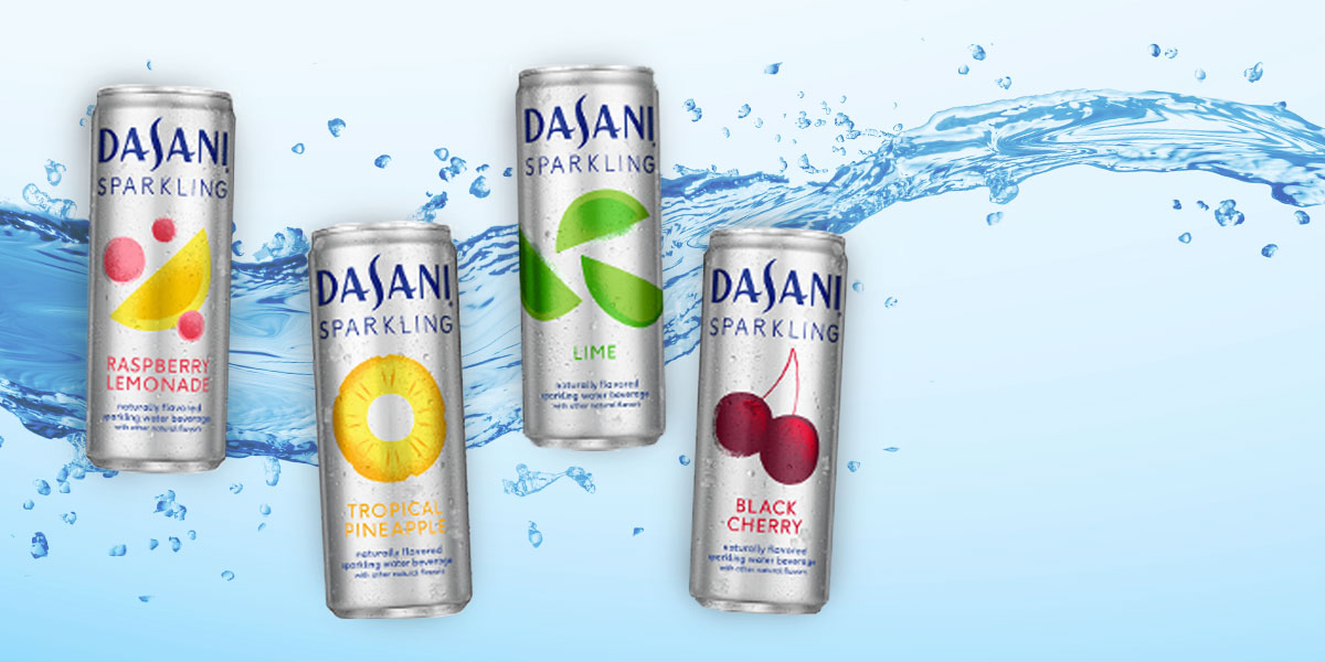 Dasani Sparkling updates packaging and flavors