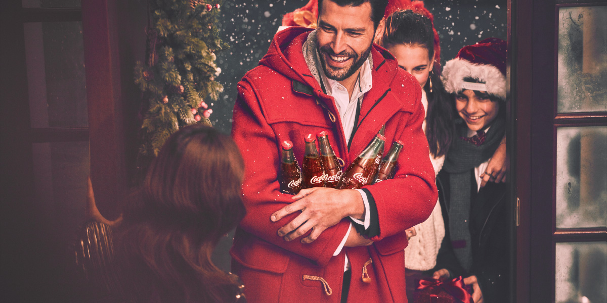 Make holiday parties sparkle with Coca-Cola® beverages
