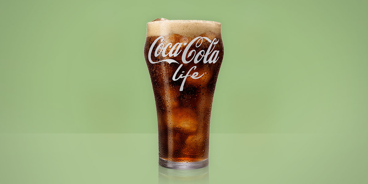 Coca-Cola Life available with fountain equipment