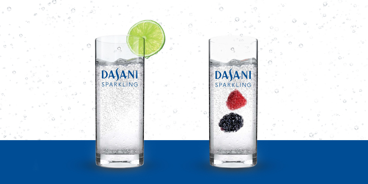DASANI® Sparkling available with fountain equipment