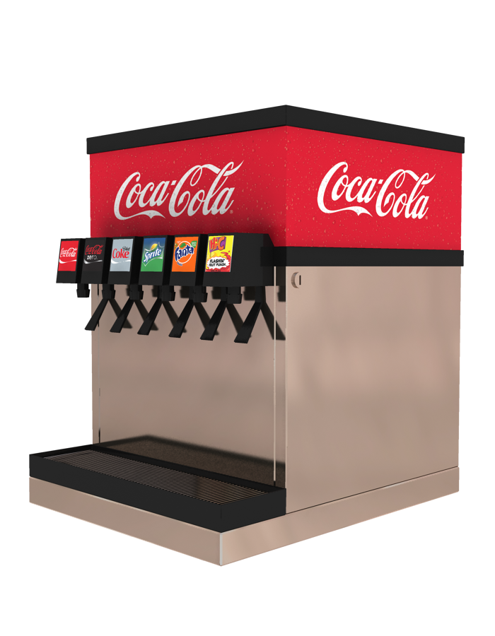 an analysis of coca colas new vending machine Coca-cola looks to make its corporate brand about more than just coke coca-cola has launched a new new corporate campaign, uber sues mobile vending machine.